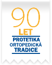 90 let - Protetika - ortopedická tradice